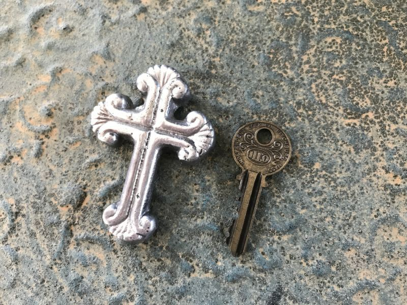画像4: ご加護を!! メキシカンピュータークロス 十字架 シェル