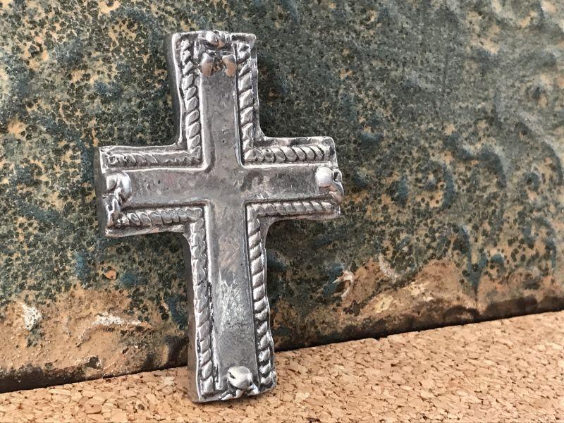 画像3: ご加護を!! メキシカンピュータークロス 十字架 プレーン