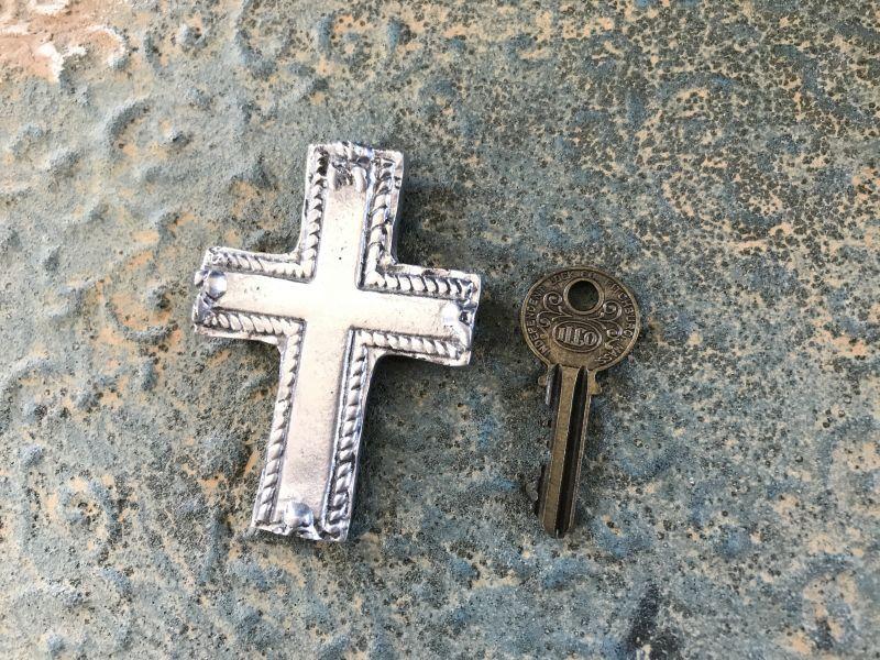 画像4: ご加護を!! メキシカンピュータークロス 十字架 プレーン