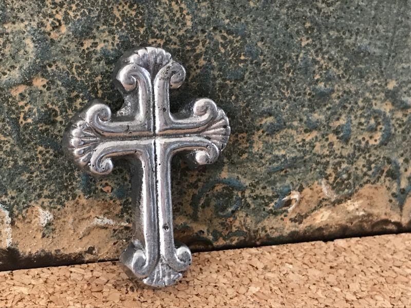 画像3: ご加護を!! メキシカンピュータークロス 十字架 シェル