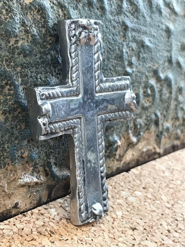 画像2: ご加護を!! メキシカンピュータークロス 十字架 プレーン