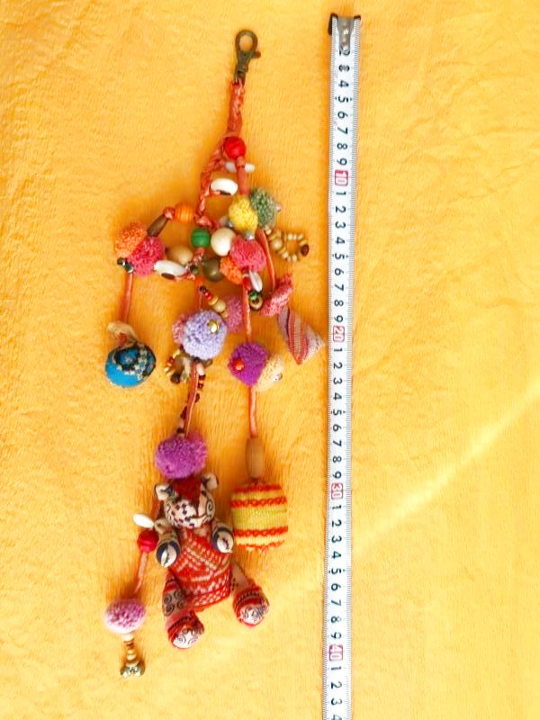 画像4: モン族の魔よけと幸運のテディベア 飾り