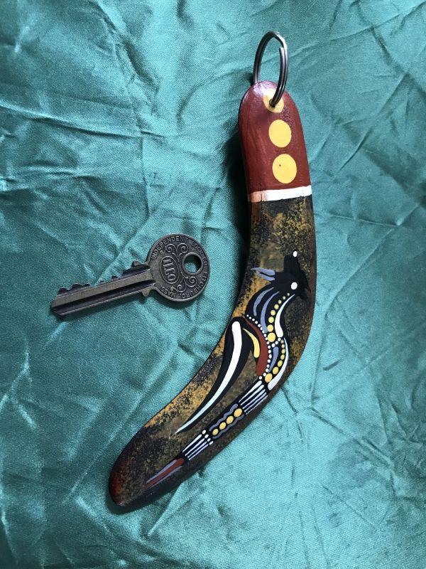 画像3: 幸運を引っ掛けて戻って来る!アボリジニのブーメラン エミュー