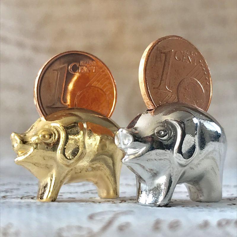 画像5: 繁栄と幸運を!ラッキーユーロ☆ピッグ ゴールド