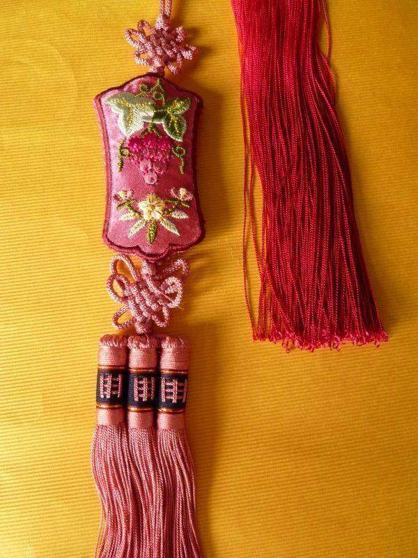 画像3: 受け継がれる幸福のお守りノリゲ 葡萄 紫