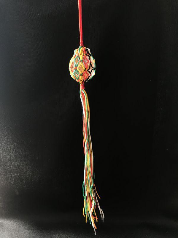画像2: 【希少】化殺好転!凶から吉へ運気向上!ネット入り天然水晶浄化球