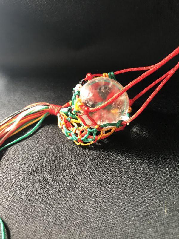 画像3: 【希少】化殺好転!凶から吉へ運気向上!ネット入り天然水晶浄化球