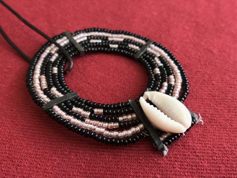 画像2: マサイ族の美の象徴★ビーズ飾り BK