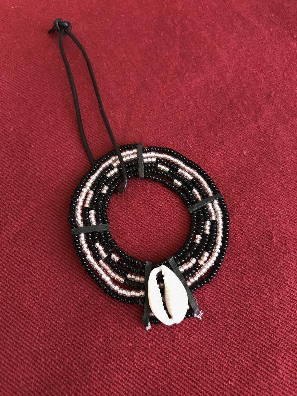 画像1: マサイ族の美の象徴★ビーズ飾り BK