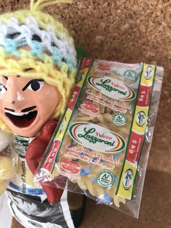 画像1: (エケッコー人形ミニチュア小物)エケコ様にお供えを♪ キッチュなパッケージ☆ ミニマカロニ ★フジッリ(カール)【1個の価格】