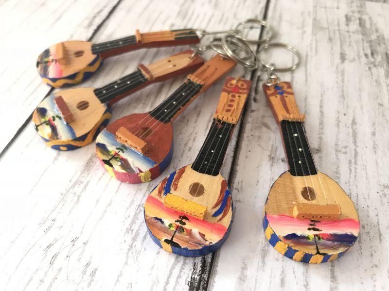 画像2: エケコ(エケッコー)人形用小物 ペルーのミニチュア楽器・ギターKH【小物のみの価格】丸