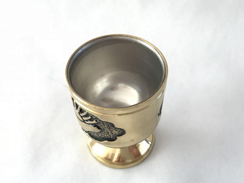 画像4: 金財の波が注がれる!金色元寶水盃 銅製