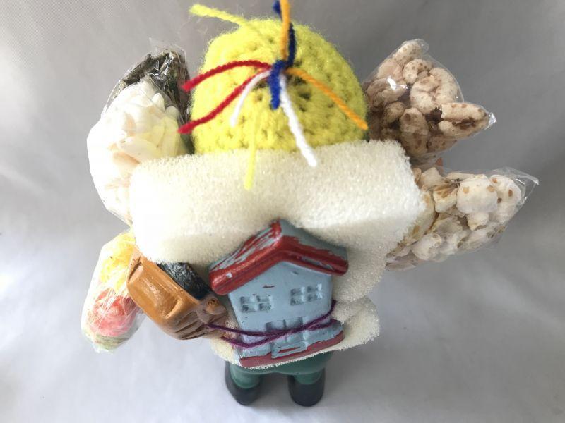 画像5: 【グリーン】荷物たっぷり!!エケコ(エケッコ)人形 Lサイズ(約18.5センチ)【限定】