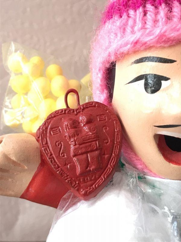 画像1: エケコ人形用小物☆もっと愛情運が欲しい♪愛のハート【出会い・恋愛成就・婚活】【小物のみの価格】