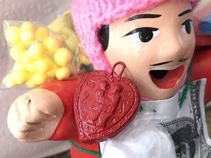 画像4: エケコ人形用小物☆もっと愛情運が欲しい♪愛のハート【出会い・恋愛成就・婚活】【小物のみの価格】