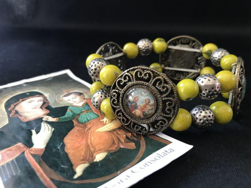 画像1: 聖人達が護ってくれる!聖なるブレスレット Y