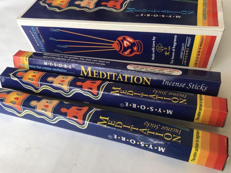 画像2: 瞑想をした後のような満ち足りた状態なれる メディテーション お香