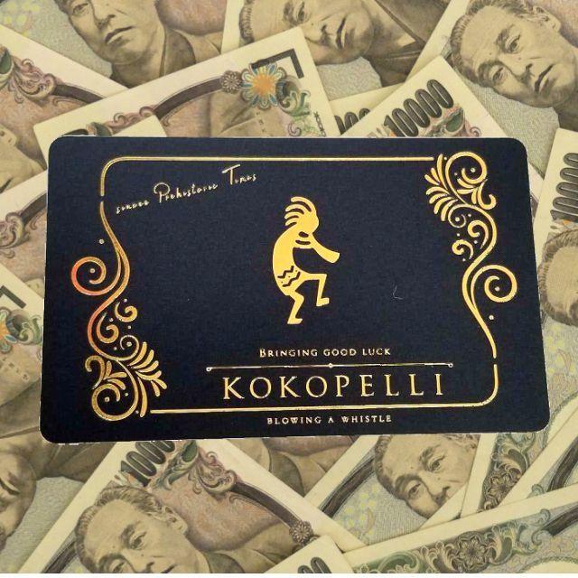 人生大逆転!噂の金のココペリ ゴールドVIPカード( GOLD VIP CARD)