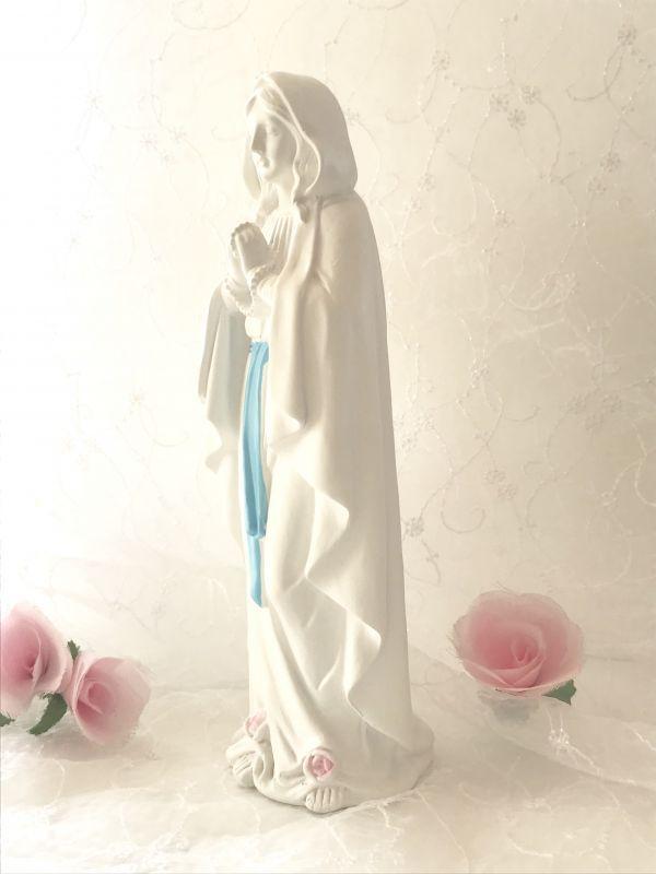 画像2: ルルドの聖マリア像 薔薇