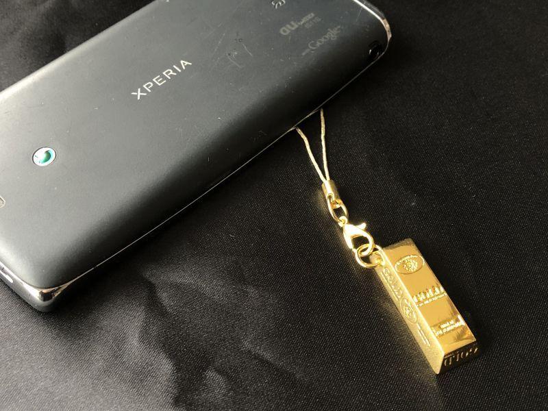 画像4: 金の力!幸運の金塊‼ ゴールドバーストラップ