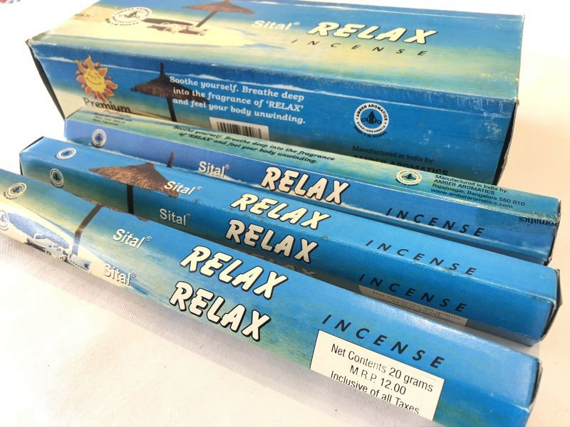 画像2: 力を抜いてくつろぎたい時に RELAX(リラックス) お香