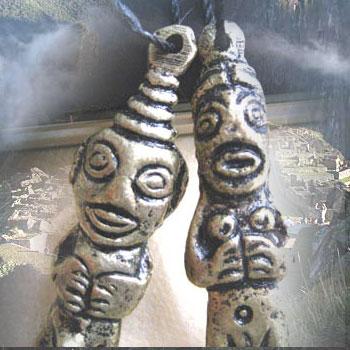 画像1: あなたの大切なものを守ってくれる守り神☆ビルカバンバ マチュピチュの守護神☆ペアセット
