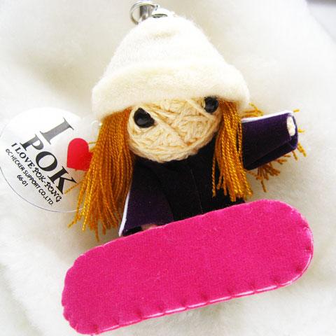 画像1: ポクポンクールボーダーズ Free Snowboarder Girl 「スノーボード上達」