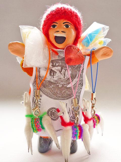 画像2: エケコ人形の友達♪ リャマストラップ