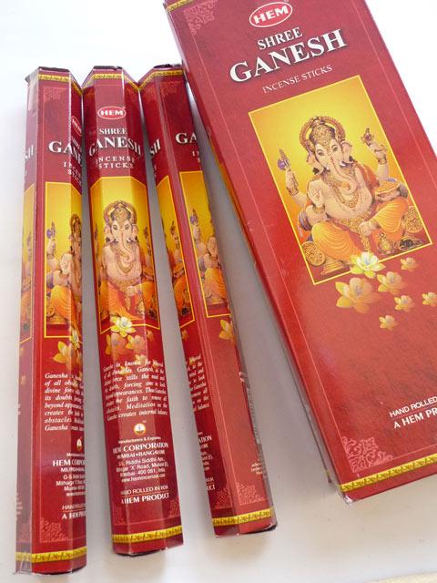 画像1: 【神様のお香】願いを叶えて★甘く香々しい ガネーシャ お香