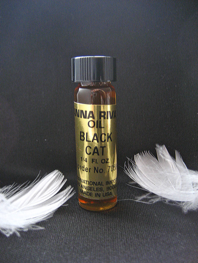画像1: ギャンブル必勝!おまじないオイル Black Cat(ブラック・キャット)