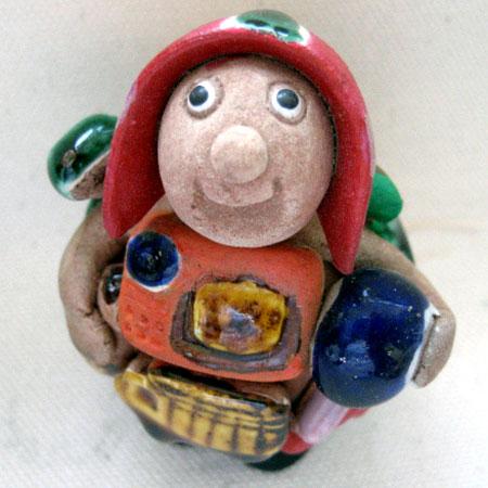 画像1: 希少!ボリビア エケコ(エケッコー)人形