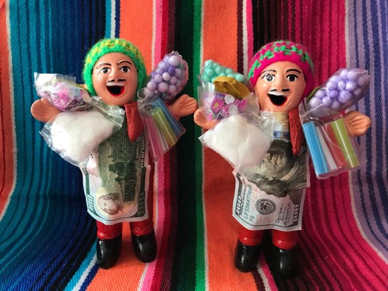 画像4: 【レッド】『ペルー産!』エケコ(エケッコー)人形  MMサイズ(約14.8センチ)